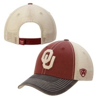 Oklahoma Sooners Top of the World Offroad Trucker Adjustable Hat – Crimson