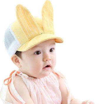 PEAP78W Cotton Blend Toddler Infant Sun Lovely Cap Summer Cute Baby Girls Boys Fashion Sun Beach Hat