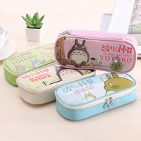 Korean Innovative Box Pen Bags Simple Design Lovely Cartoons Big Capacity Stationary [11648926799]
