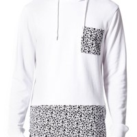 On The Byas Simpson Pieced Pullover Hoodie - Mens Shirt - Black