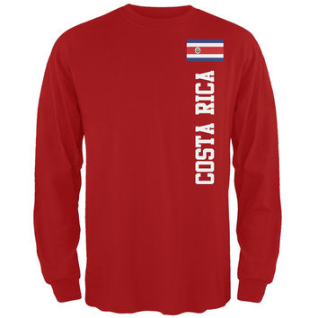 World Cup Costa Rica Red Long Sleeve T-Shirt