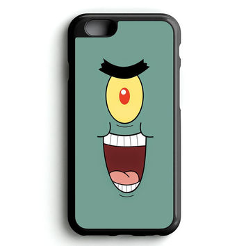 funny faces of plankton iPhone 4s iphone 5s iphone 5c iphone 6 Plus Case | iPod Touch 4 iPod Touch 5 Case