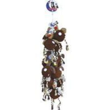 Ethical Dog - Gigglers Chicken Rope Dog Toy Display