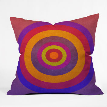 Elisabeth Fredriksson Cosy Circles Throw Pillow