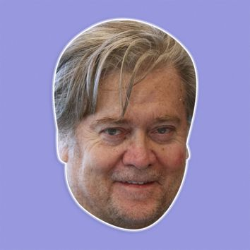 Happy Stephen Bannon Mask by RapMasks
