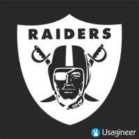 OAKLAND RAIDERS NFL Sports VINYL DECAL STICKER