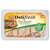 Oscar Mayer Deli Fresh Shaved Oven Roasted Turkey Breast 16 oz : Target