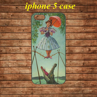 iphone 5 case,iphone 5 hard case,iphone 5 cover,iphone 5 hard cover---Haunted Mansion Stretching Painting,in plastic
