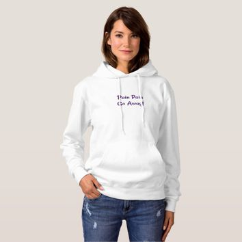 Fibro Pain Hooded Sweatshirt
