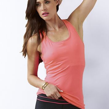 Essential Studio Shelf Bra Tank - Pink