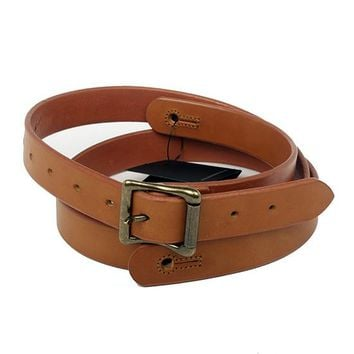"The Guthrie 1"" Wide Guitar Strap in New Castano Bridle Leather"