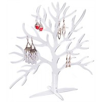 Clear Acrylic Tree Shaped Earring Holder Display