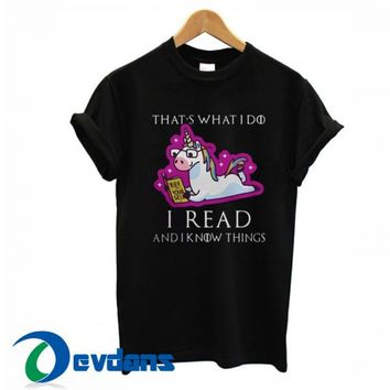 Unicorn That's What I Do T Shirt Women And Men Size S To 3XL
