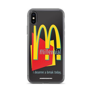 Millennial iPhone X Case