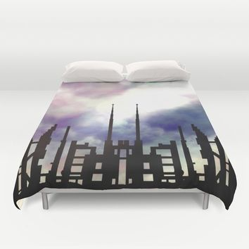 Cityskape Duvet Cover by Moonlit Emporium