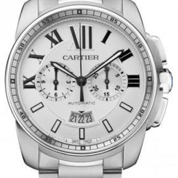 Cartier - Calibre de Cartier Chronograph Stainless Steel