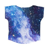 Girls Cosmic Tee, Black Grey, at Journeys Shoes
