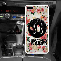 5SOS Floral For iphone case 5/5s/5C case, iphone 4/4s, samsung Galaxy s3/s4/s5, Galaxy note, ipod case