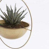 Round Hanging Planter - Urban Outfitters