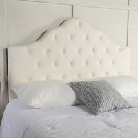 Marina Fabric Queen/ Full Tufted Headboard