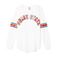 Boise State University Limited Edition Varsity Crew - PINK - Victoria's Secret