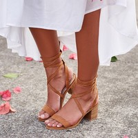 Billini Wistful Heel Tan Suede