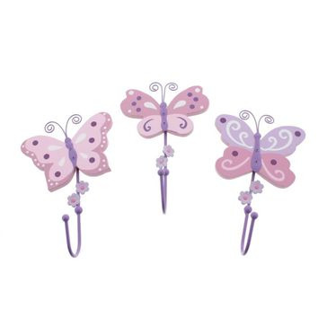 Koala Baby 3PC Nursery Butterfly Wall Decor