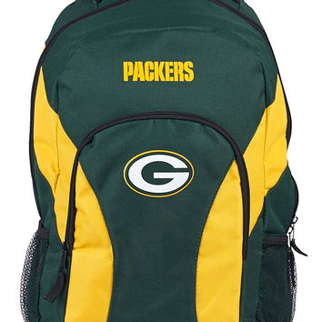 Green Bay Packers Draft Day Hunter Green Back Pack