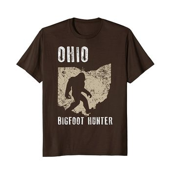 Ohio Bigfoot Hunter Shirt- Funny Sasquatch Gift