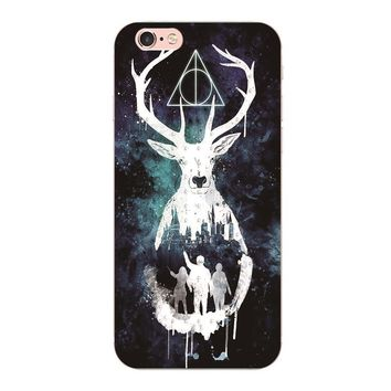 2017 New Harry potter cover plastic case For iphone 6 6S 7 Plus 5S 5 5C 4S Phone shell For Samsung Galaxy S6 S7 edge S3 S4 S5