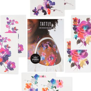 Tattly Temporary Tattoo Set | The in Bloom Set