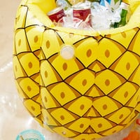 Pineapple Drink Cooler Pool Float | Urban Outfitters