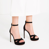 HIGH HEEL PLATFORM SANDALS - View all-SHOES-WOMAN | ZARA United States