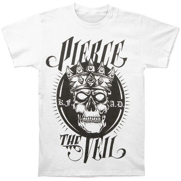 Pierce The Veil Men's  King For A Day T-shirt White Rockabilia