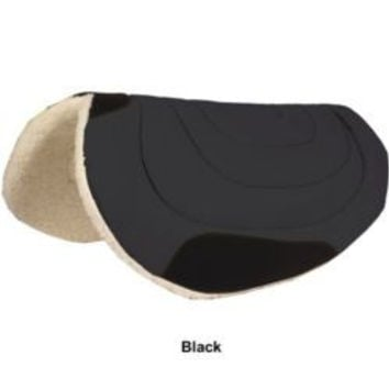 Mustang Micro-Suede Barrel Saddle Pad