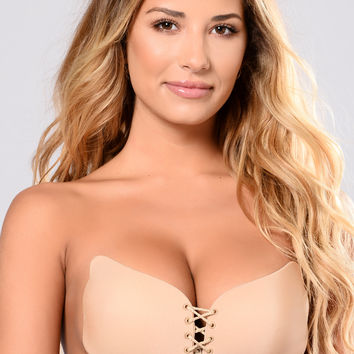 Up Close And Personal Invisible Bra - Nude