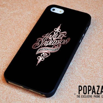 Harley Davidson motorcycle logo iPhone 5 | 5S Case Cover