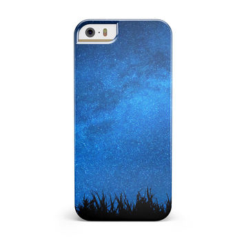 Silhouette Night Sky ink-Fuzed Candy Shell Case for the iPhone 5/5S/SE