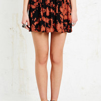 Ecote Nash Flippy Skirt in Tie-Dye - Urban Outfitters