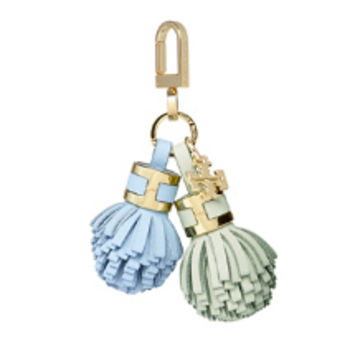 Tory Burch York Duo Tassel Key Fob