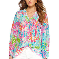 Elsa Top - Let's Cha Cha - Lilly Pulitzer