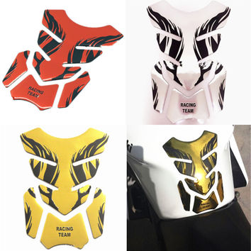 2017 New 3D Motorcycle Gas Fuel Tank Cover Protector Pad Motorbike Decal Sticker For Honda For Yamaha For Suzuki For Kawasaki