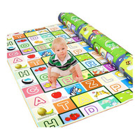 Waterproof Kids Baby Todder Play  Crawl  Gym Picnic Mat Pad Rug Double Sided 1.5 x 1.8M