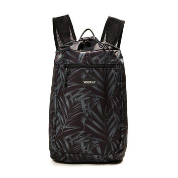 Vooray - Stride Cinch Tropical Foliage Backpack