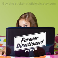 Forever Directioner One Direction Laptop Decal by stickypic