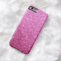 Elegant Pink Glitter Luxury iPhone 6 Case