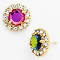 kate spade new york 'secret garden' crystal stud earrings