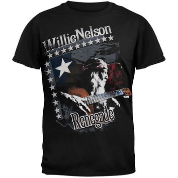 Willie Nelson - Profile Renegade T-Shirt