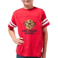 ONE SMART COOKIE YOUTH FOOTBALL SHIRT