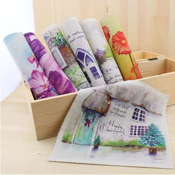 cartoon cotton knit fabric patchwork for apparel sewing & curtain diy felt fabric printing materials cloth doll textile patterns